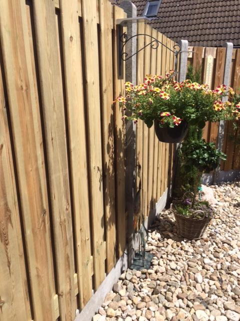 hout beton schutting aanbiedingen