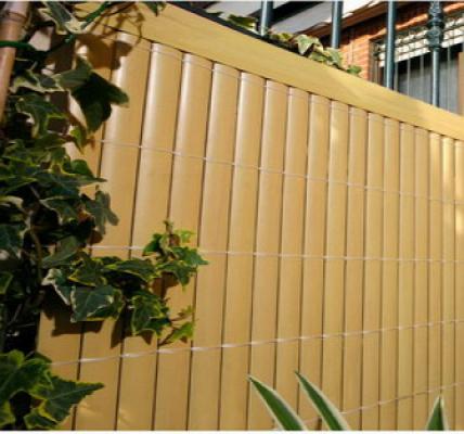 Tuinscherm pvc tuinafscheiding bamboe