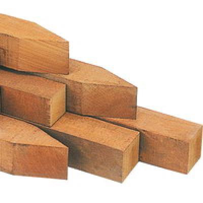 Palen hardhout voor