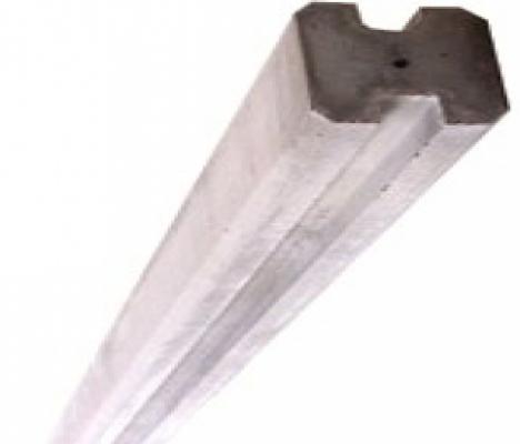 Betonpalen 12x12x248cm schutting betonschutting