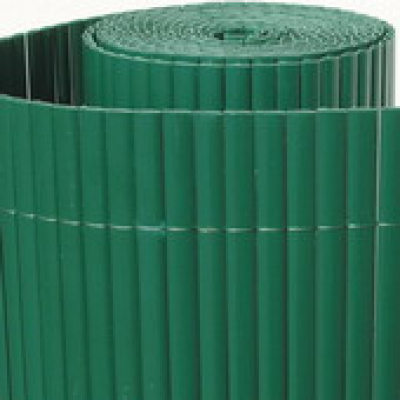 Tuinscherm tuinafscheiding kunststof PVC groen