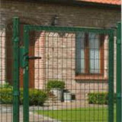 Draaipoort voor hekwerk 100x153cm groen