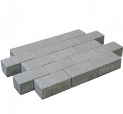 Betonklinker grijs sierbestrating.