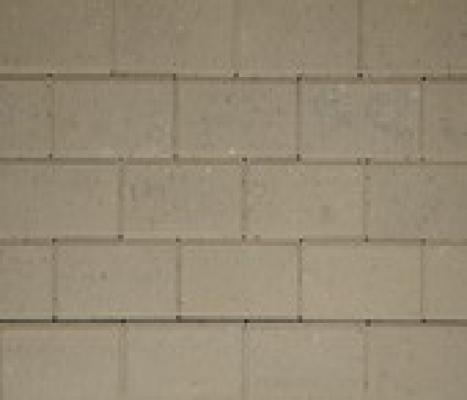Halve betonklinkers grijs 11x11cm sierbestrating
