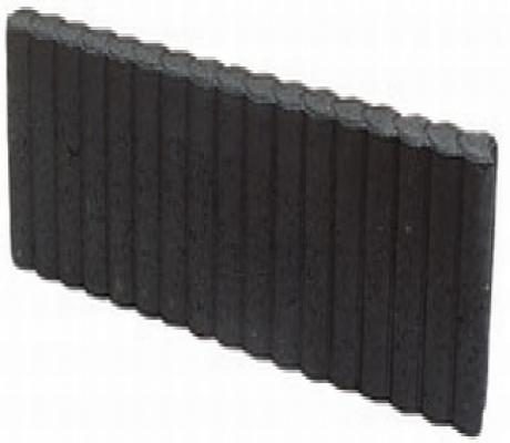 Palissade opsluitband zwart