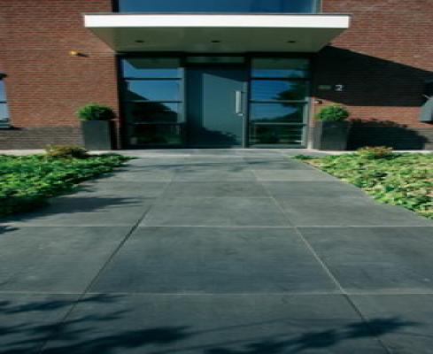 Terrastegel 80x80cm tuintegel Desert Black