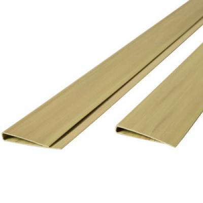 Tuinscherm pvc profiel bamboe 200cm
