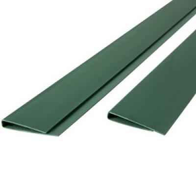 Tuinscherm pvc profiel groen 200cm
