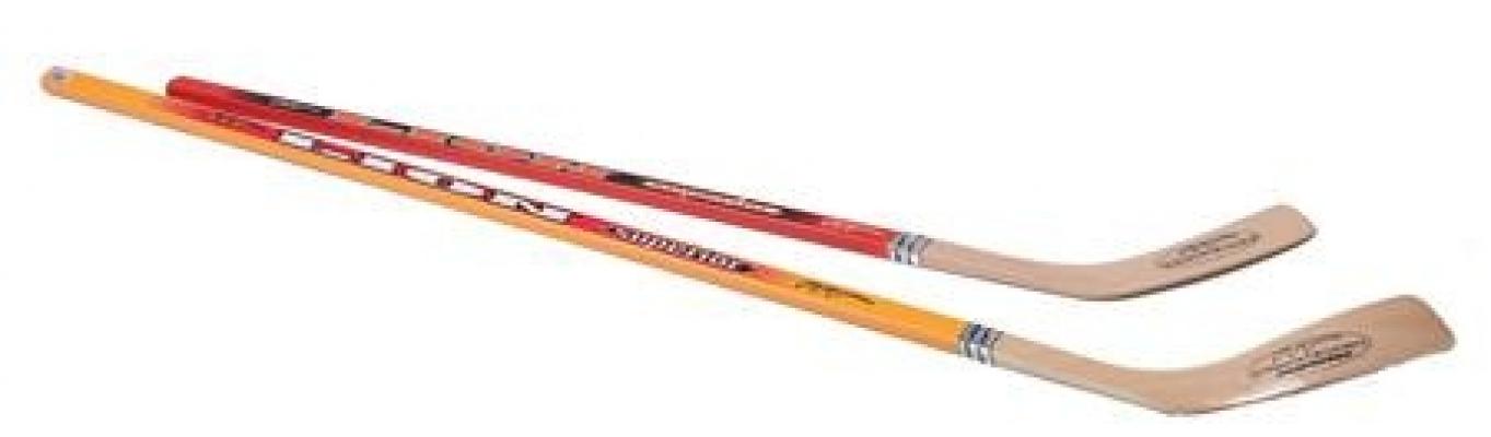 Hockeystick hout