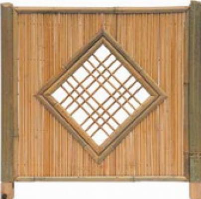 Tuinscherm bamboescherm bamboe