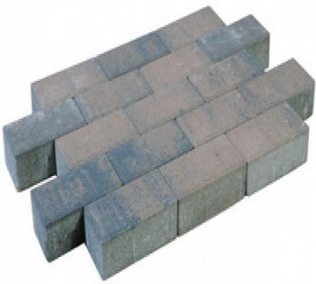 Betonklinker sierbestrating brons, 21x10,5x7cm, per m2