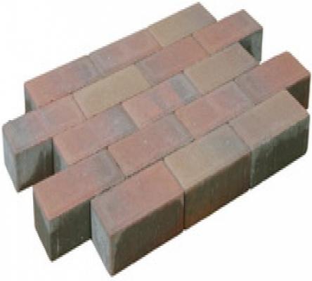Betonklinker sierbestrating oud bont, 21x10,5x7cm, per m2