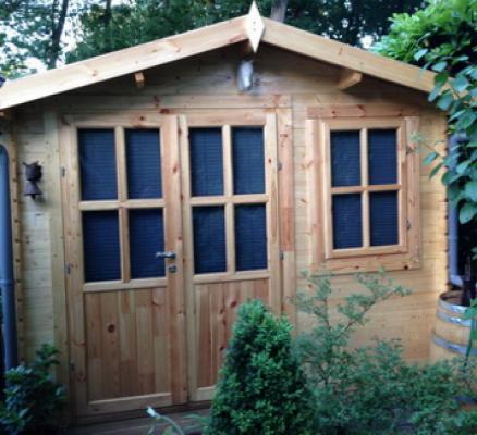 Blokhut tuinhuisje Suffolk 3x2mtr