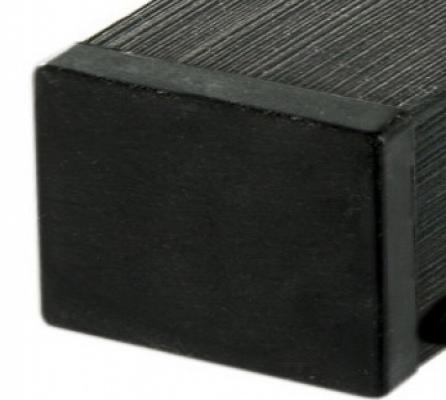 Tuinpaal houtcomposiet antraciet 270cm