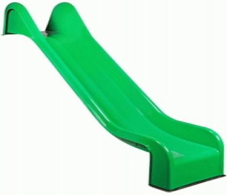 Glijbaan groen 365cm voor speeltoestellen speelplaatsen polyester 365cm