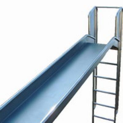 Glijbaan rvs voor speeltoestellen met trap 200cm