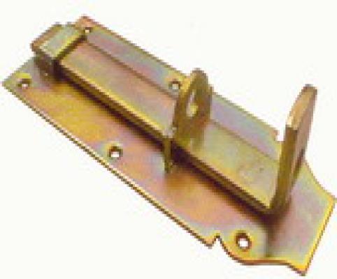 Hangslotschuif 12cm met sluitbeugel