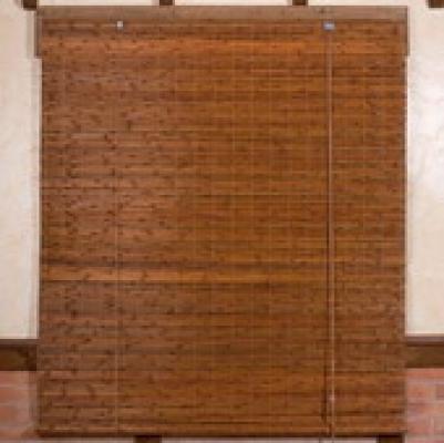 Rolgordijn bamboe jalouzie Kofu 100cm