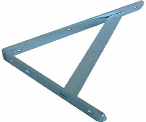 Plankdrager 30cm universeel verzinkt