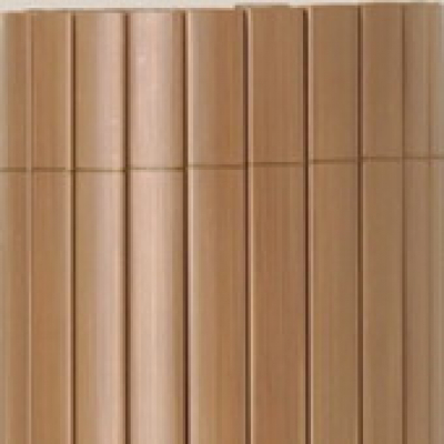 Tuinscherm PVC tuinafscheiding bruin