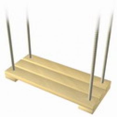 Schommel speeltoestel hout