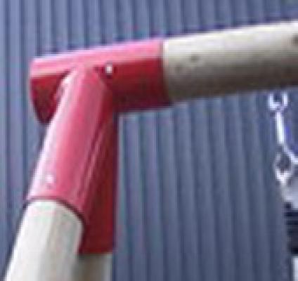 Speeltoestelverbinding voor speeltoestellen ø80mm