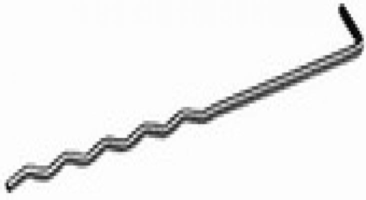 Spouwanker verzinkt 20cm