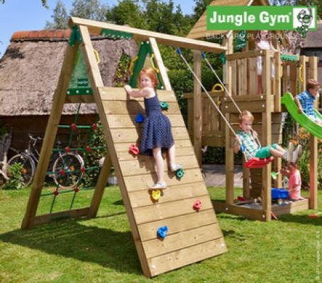 Houten speeltoestellen Jungle Climb module