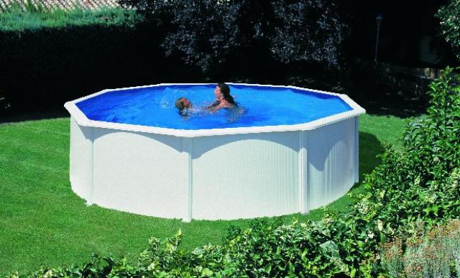 Zwembad stalen wand 460cm